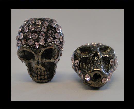 Shamballa Skull-Rose