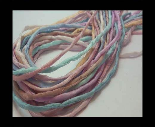 Silk Cords - 2mm - Round -RAINBOW