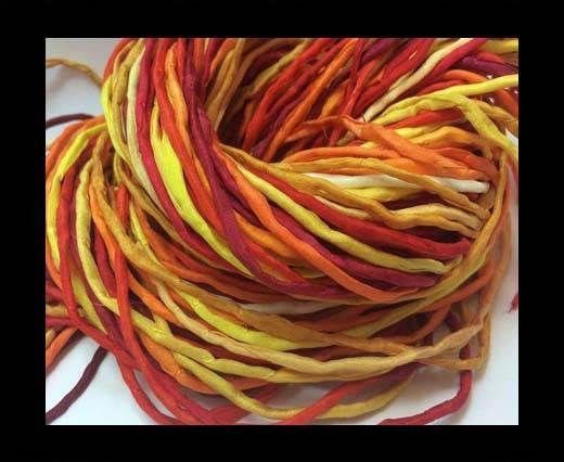Silk Cords - 2mm - Round -29625 - mixed 5