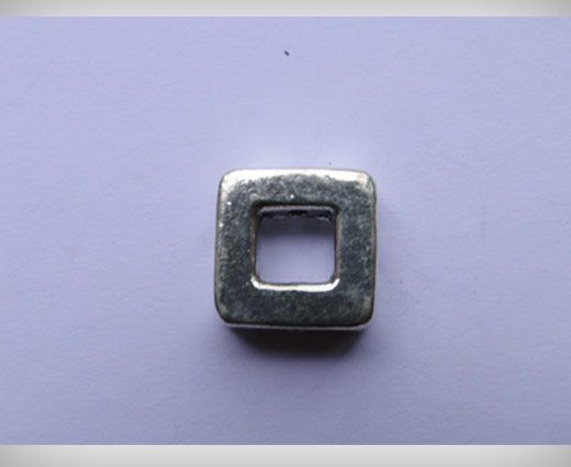 Silver Plated Antique Beads SE-8104