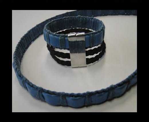Special Real Touch Eco Leather-14mm-Blue