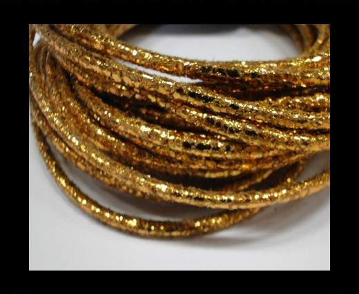 Special Real Touch Eco Leather Style 2-Dark Gold-3mm