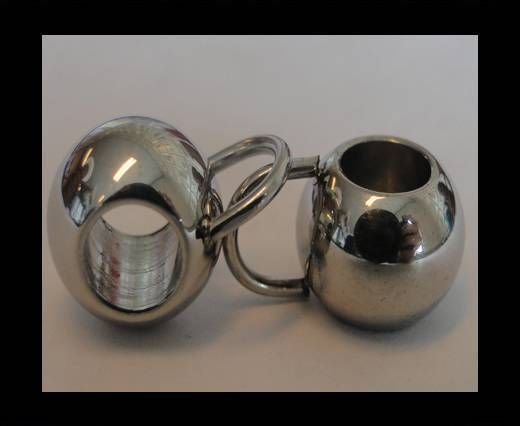 Stainless steel part for leather SSP-207-6mm