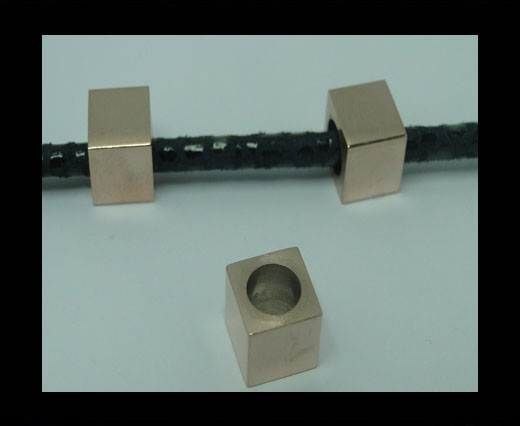 Stainless steel part for leather SSP-306-6MM-ROSE GOLD