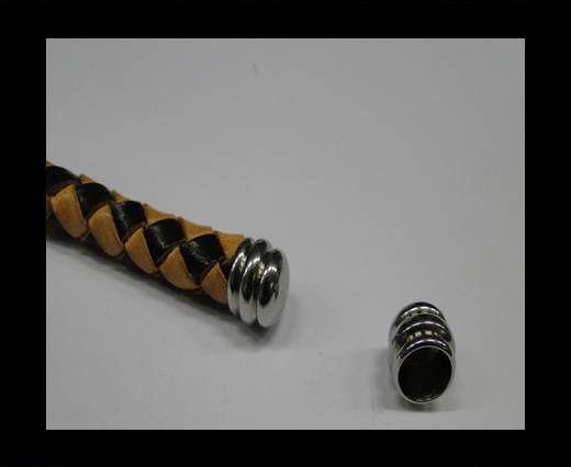 Stainless steel end cap SSP-406