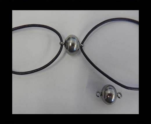 Stainless steel charm SSP-439-12mm-Steel