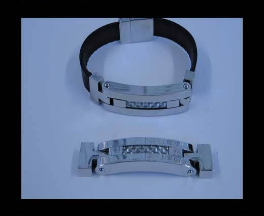 Stainless steel part for bracelet SSP-526-10.5*3.5MM