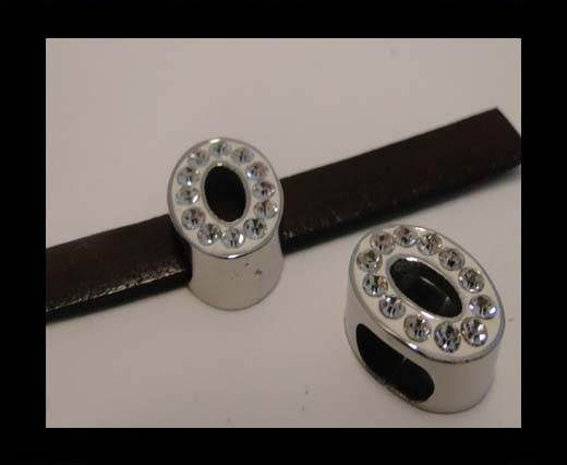 Stainless steel part for leather SSP-633-8*4mm