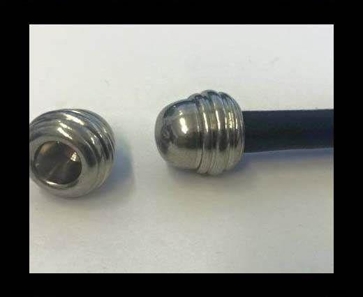 Stainless steel end cap SSP-642-6mm-Steel