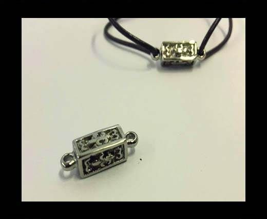 Stainless steel charm SSP-687-21*6.5mm-Steel