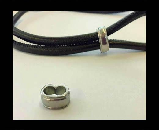 Stainless steel part for round leather SSP-705-5mm-Steel
