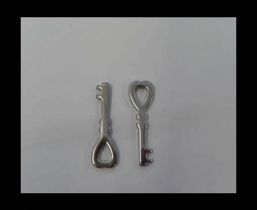 Stainless steel pendant SSP-99-29.8*9.6mm-Steel