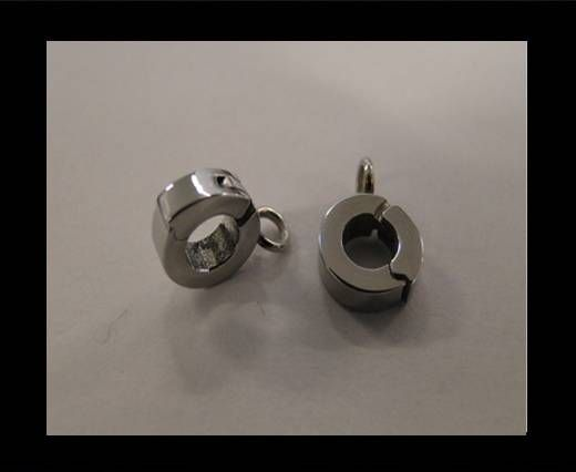 Stainless steel part for round leather SSP-53-3mm