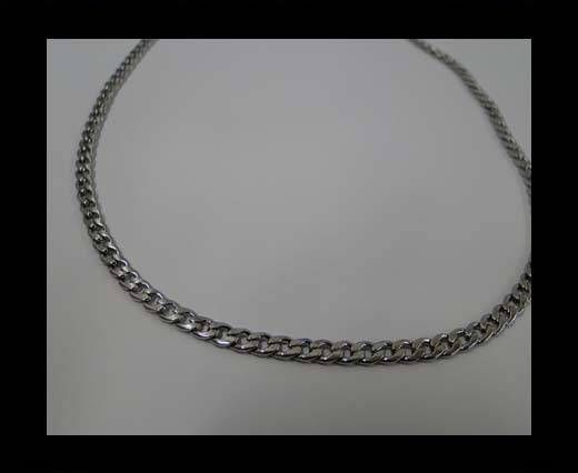 Stainless Steel Chain Item-14-1*3,6*5mm Steel