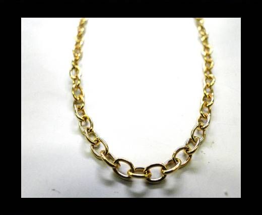 Steel Chain Item 16 Gold