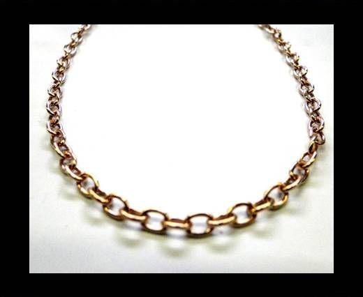 Steel Chain Item 16 Rose Gold