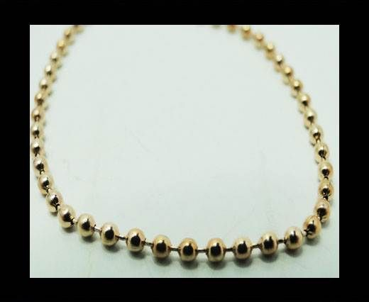 Steel chain item number-39-rose gold