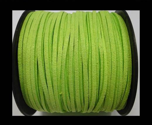 Suede cord - 3mm - Neon Green
