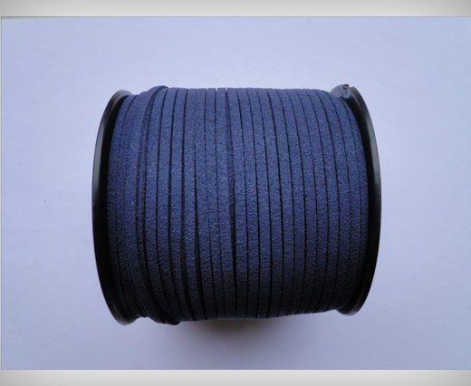 Suede Cords-3mm-Dark Blue