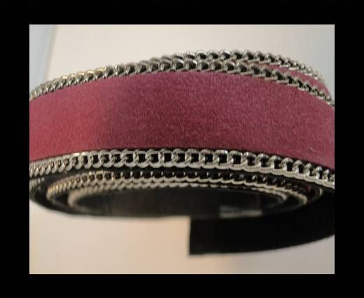 Suede Leather - Pink