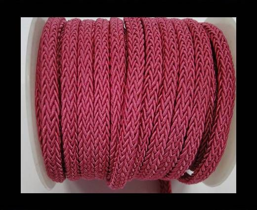 Swift Braided Cord without inner-Pink-6mm