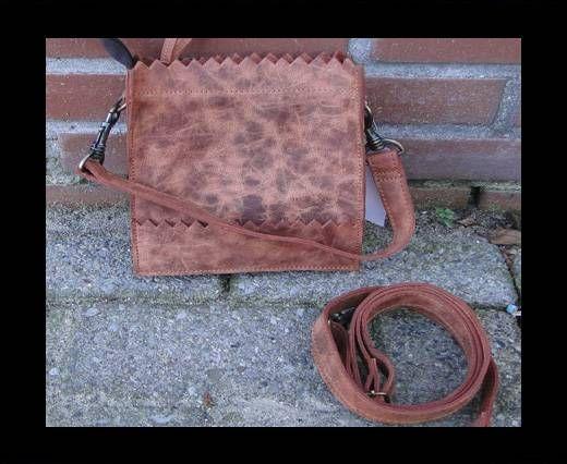 Vintage Leather Mercury Series Bag-20508-Honey Crunch