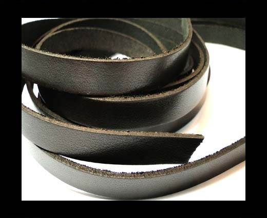 Vintage Style Flat Leather-10mm-Spl 2 brown