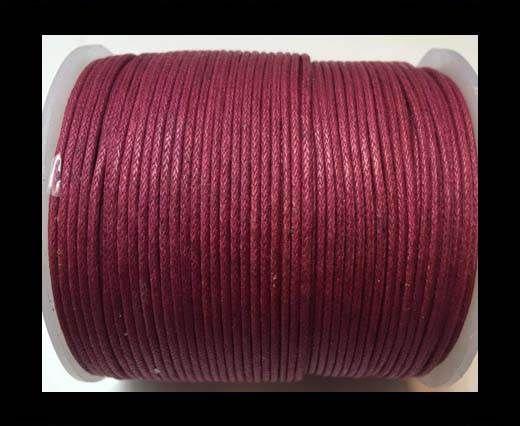 Wax Cotton Cords - 0,5mm - Dark Pink