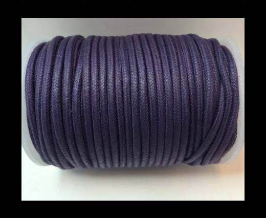 Wax Cotton Cords - 1,5mm - Lavender 1