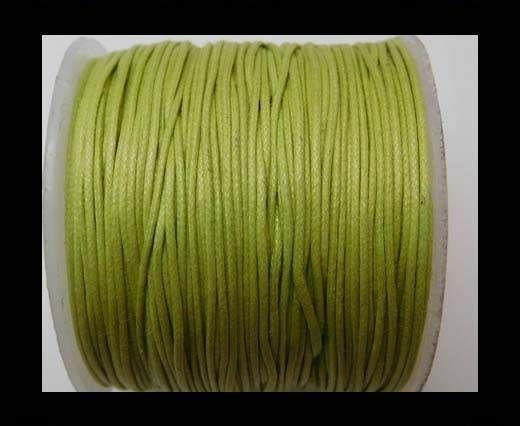 Wax Cotton Cords - 0,5mm - Apple Green
