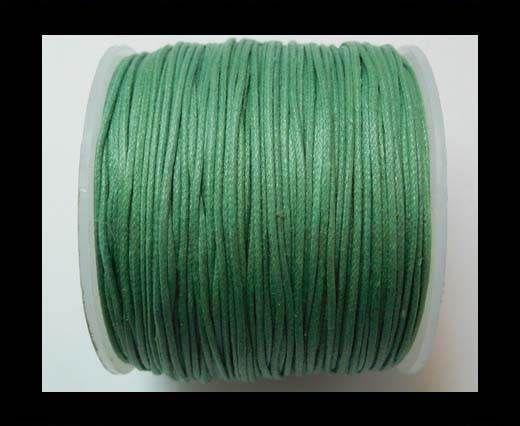 Wax Cotton Cords - 0,5mm - Sea Blue