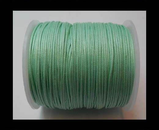 Wax Cotton Cords - 1mm - Aquamarine