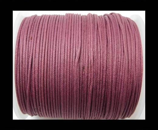 Wax Cotton Cords - 1mm - Burgundy