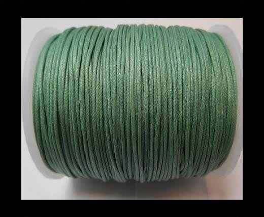 Wax Cotton Cords - 1mm - Sea Blue
