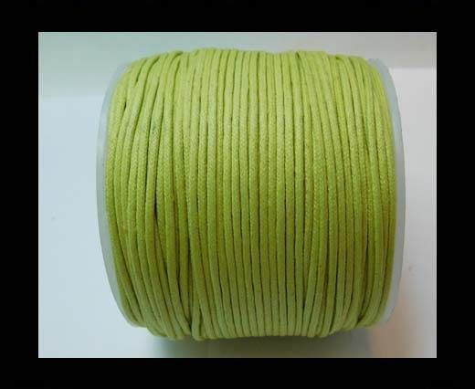 Wax Cotton Cords - 1,5mm - Apple Green