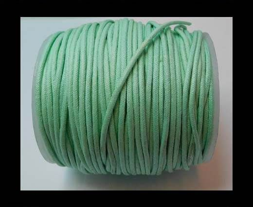 Wax Cotton Cords - 1,5mm - Aquamarine