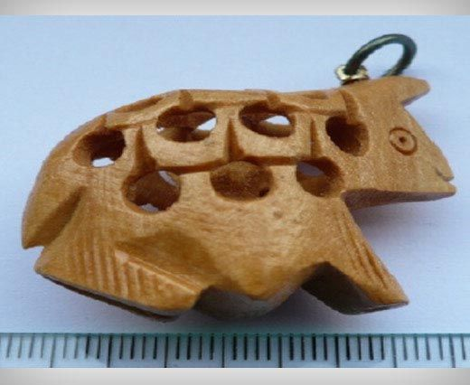 Wooden Pendals WB-10