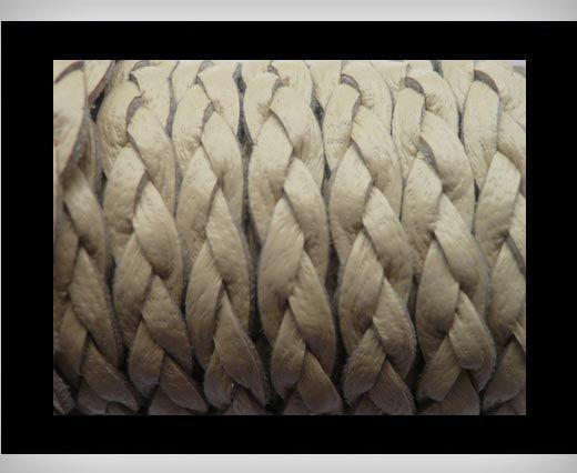 6mm-Flat Braided-Ivory