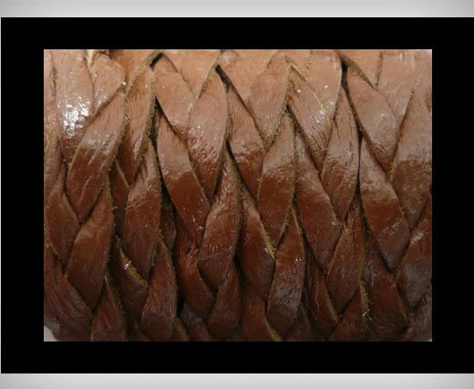 6mm-Flat Braided-Coffee-Brown