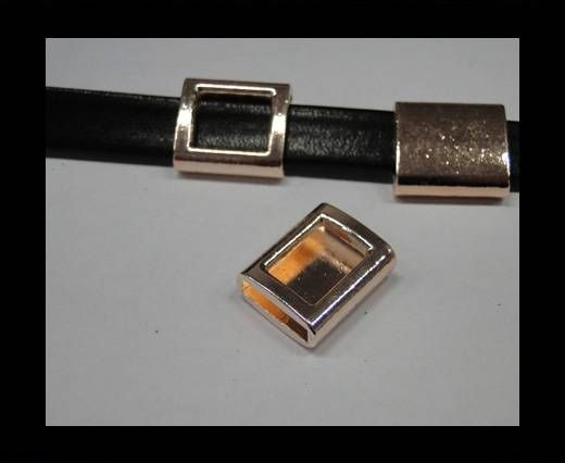 CA-4702-Rose gold-Zamac parts for leather