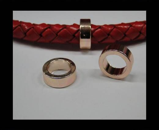 CA-4740-Rose gold-Zamac parts for leather