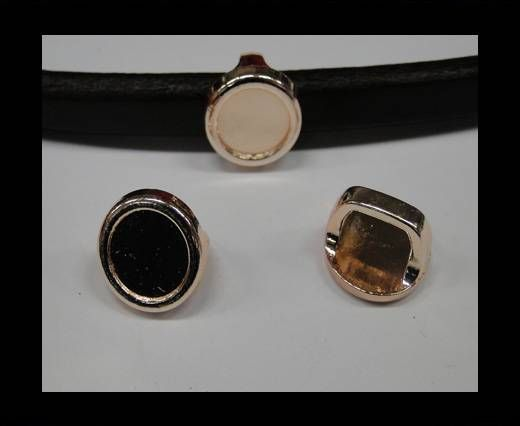 CA-4771-Rose gold-Zamac parts for leather