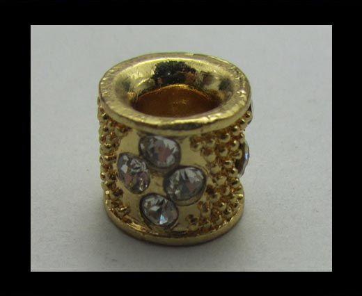 Crystal Big Hole Beads CA-4156