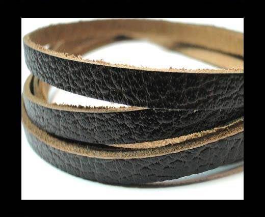 Flat Vintage Leather - 5mm -  spl 1 brown
