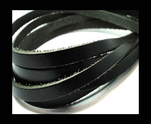 Flat Vintage Leather - 5mm -  spl 2 black