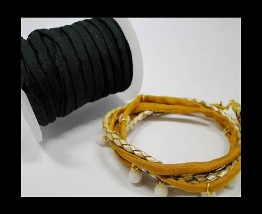Habotai silk cords - Vine