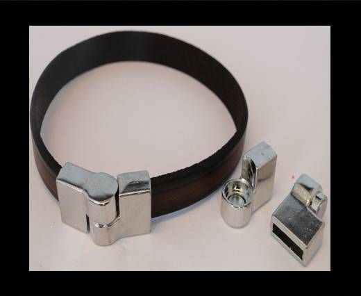 Locks for leather/Cords-ZAML-77-10*3,5mm