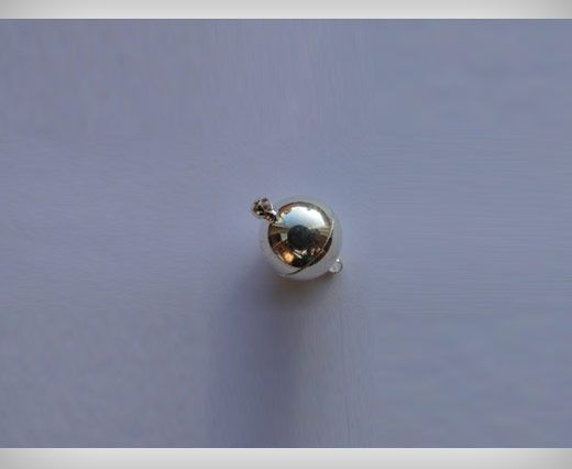 Magnetic Lock - Antique Silver - 10mm