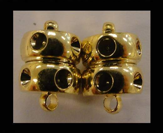 Magnetic Lock - Diamond Cut MG4-10mm-Gold