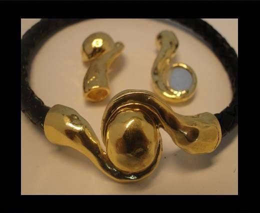 Magnetic Locks -MGL-34-6mm-Gold